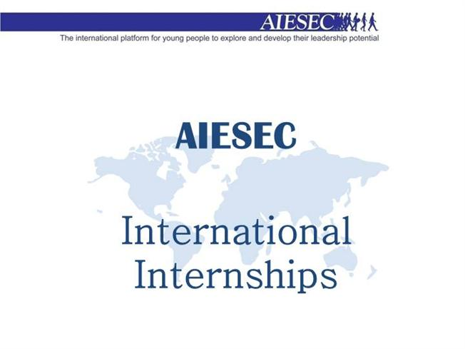 international internships - aiesec iit kharagpur |authorstream, Poster Presentation Template Iit, Presentation templates