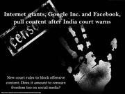 Internet giants Google Inc