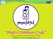 Maitri Group's MAD CAMP Presentation for Children aged 7yrs to 15 yrs