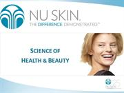 Prezentare oportunitate Nu Skin
