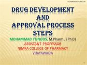 Drug Development and approval process