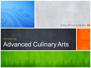 Advanced Culinary Overview:  JTED @ Santa Rita