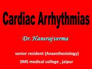dr hansraj (CARDIAC ARRHYTHMIAS)