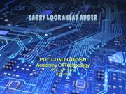 CARRY LOOK AHEAD ADDER