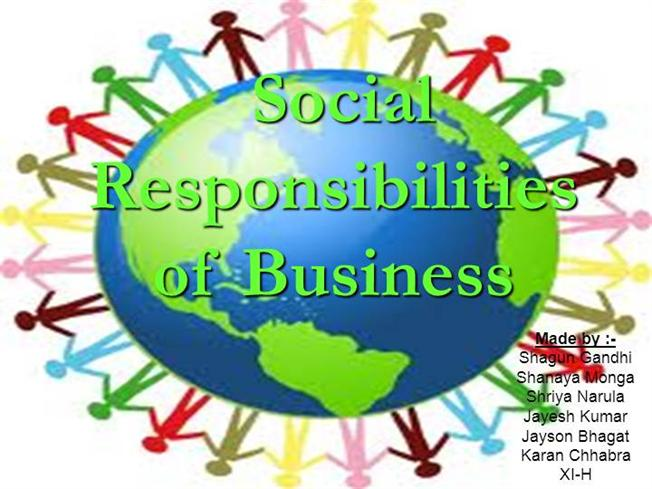 the social responsibility authorstream