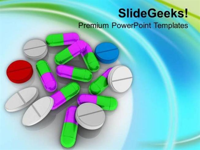 Health Take The Right Medicine Ppt Template Powerpoint Template