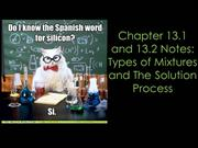 Chapter 13 with video Notes