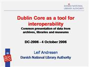 DC_tool_interoperability_andresen_DC2006
