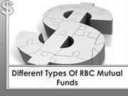 Different Types Of RBC Mutual Funds