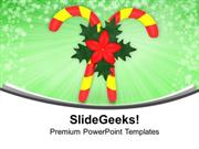 CHRISTIAN CANDY FOR CHRISTMAS CELEBRATION PPT TEMPLATE 1