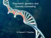 Population genetics and