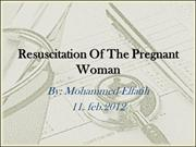 Resuscitation of the Pregnants