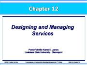 kotler12exs-Designing and Managing Servi...