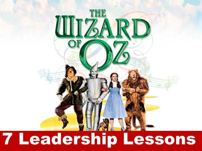 7 Leadership Lessons From The Wizard Of Oz Authorstream