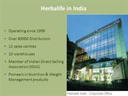Herbalife Product Detail and Usage