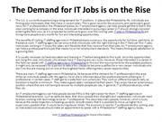 It Jobs In Philadelphia Pa