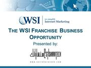 The WSI Franchise Business Opportunity in Bahrain
