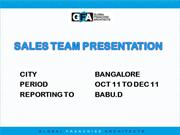 SALES TEAM PRESENTATION-FAME MEETING