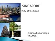 SINGAPORE INTRODUCTION by krishna