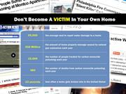 Don't Become A Victim In Your Own Home!