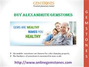 Buy Alexandrite Gemstones