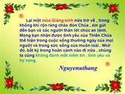 Moi nghe Giao Linh hat nhac Giang sinh