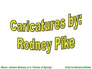 Caricatures By Rodney Pike