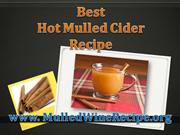 Best Hot Mulled Cider Recipe