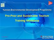 Tourism Development and Marketing