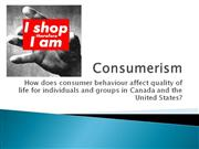 Consumerism part 1 ppt