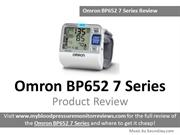 Omron BP785 10 Series Blood Pressure Monitor Review