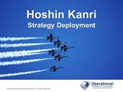 Hoshin Kanri by Allan Ung, Operational Excellence Consulting