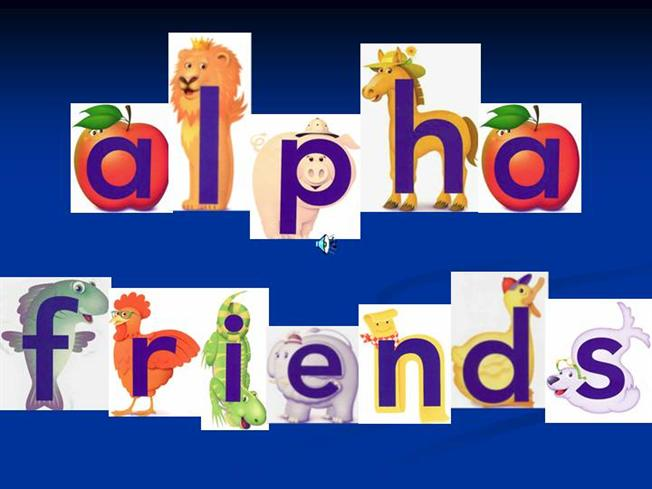 photograph about Alphafriends Printable identified as Alphafriends Printable Playing cards