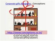 Corporate gifts Bangalore-Conceptions