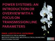 POWER SYSTEM OVERVIEW AND SUMMARY