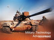 Military Technology Advancement powerpoint