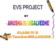ANUSHA EVS PROJECT