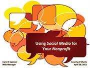 Using Social Media for Your Non-Profit