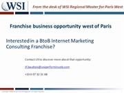 WSI Franchise Business Opportunity West of Paris