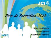 Plan de Formation 1er Trimestre