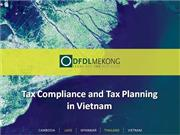 SBF Tax Compliance and Tax Planning Vietnam