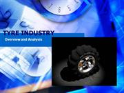 Market Analysis of Tyre Industry
