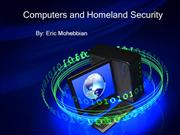Computers and Homeland Security