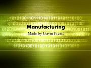manufacturing and technology