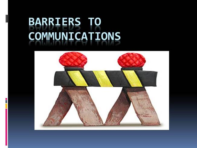 Barriers to Communication |authorSTREAM