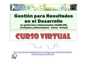 Curso Virtual Gestion para Resultados
