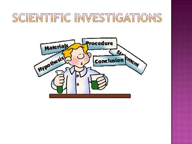 Image result for scientific investigations