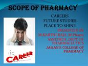 SCOPE OF PHARMACY-1