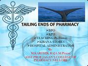 Scope of pharmacy-4 tailing ends