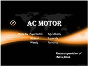 Ac motor